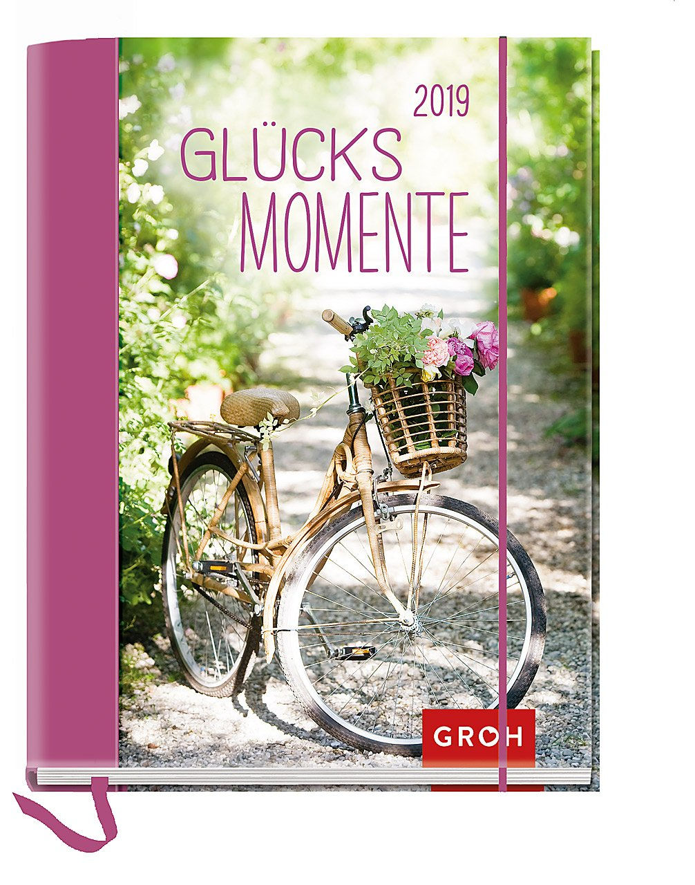 Glücksmomente 2019: Terminplaner mit Wochenkalendarium | Maße (BxH): 12x15, 5cm Kalender – 13. März 2018 Groh Redaktionsteam Groh Verlag 3848519143 Buchkalender