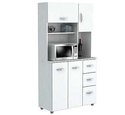Amazoncom Inval America Gcm 042 4 Door Storage Cabinet With