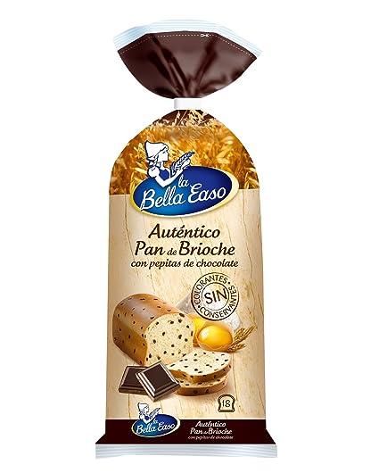 La bella easo pan de brioche con pepitas de chocolate 500g