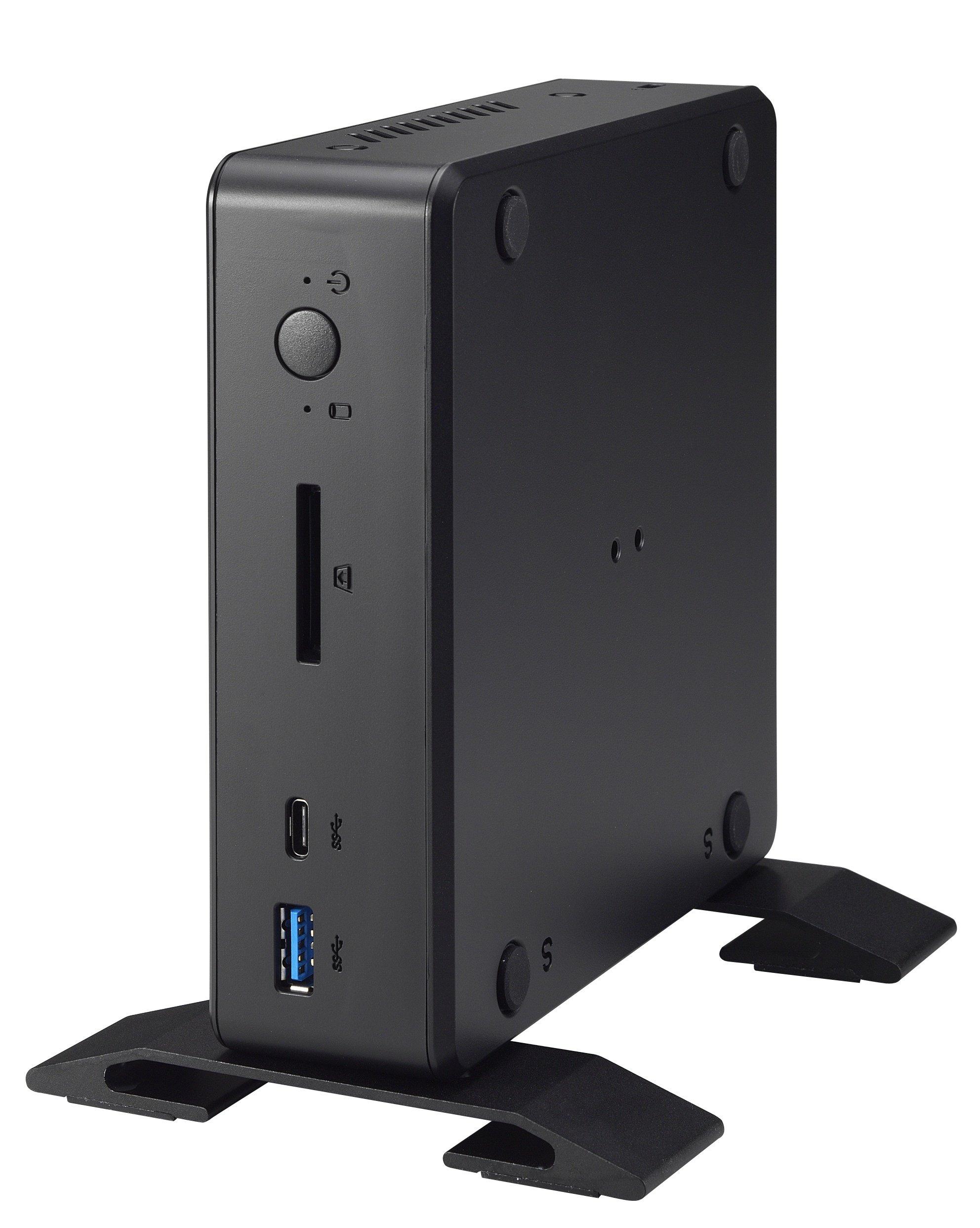 Shuttle XPC Nano NC02U3 Intel Skylake-U i3-6100U Mini Barebone PC, Support 4K HD Video, Dual-Channel DDR3L Max 32GB