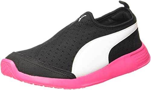 6023376f2786 Women s St Trainer Evo Slip-On Dp Black and Knockout Pink Running Shoes - 4