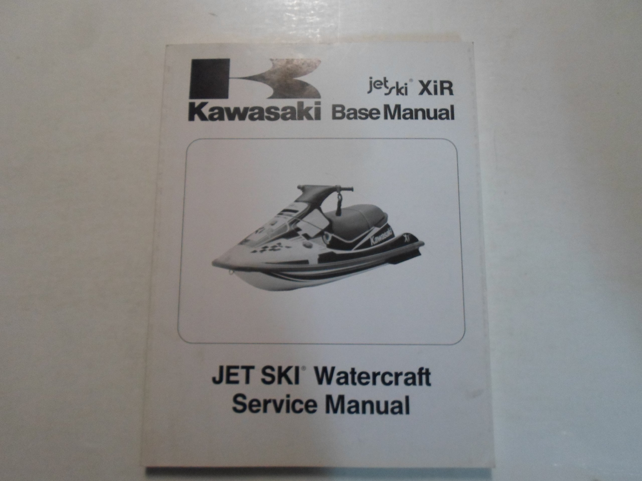 1994 Kawasaki XiR Base Manual Jet Ski Watercraft Service Manual STAINED WORN:  KAWASAKI: Amazon.com: Books