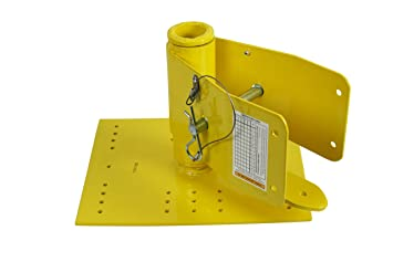 Guardian Fall Protection 00255 Screw Down Metal Roof Anchor