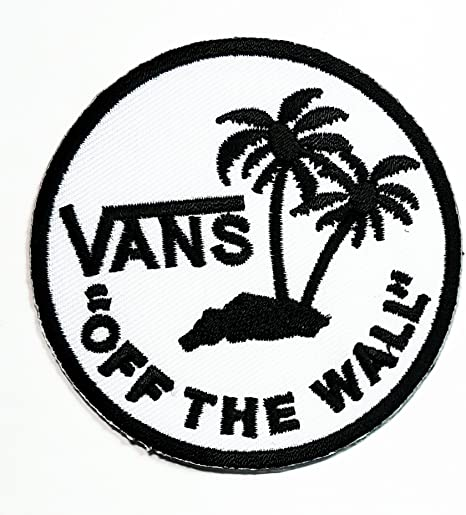 Blanco furgonetas de la pared monopatín Logo música banda Heavy ...