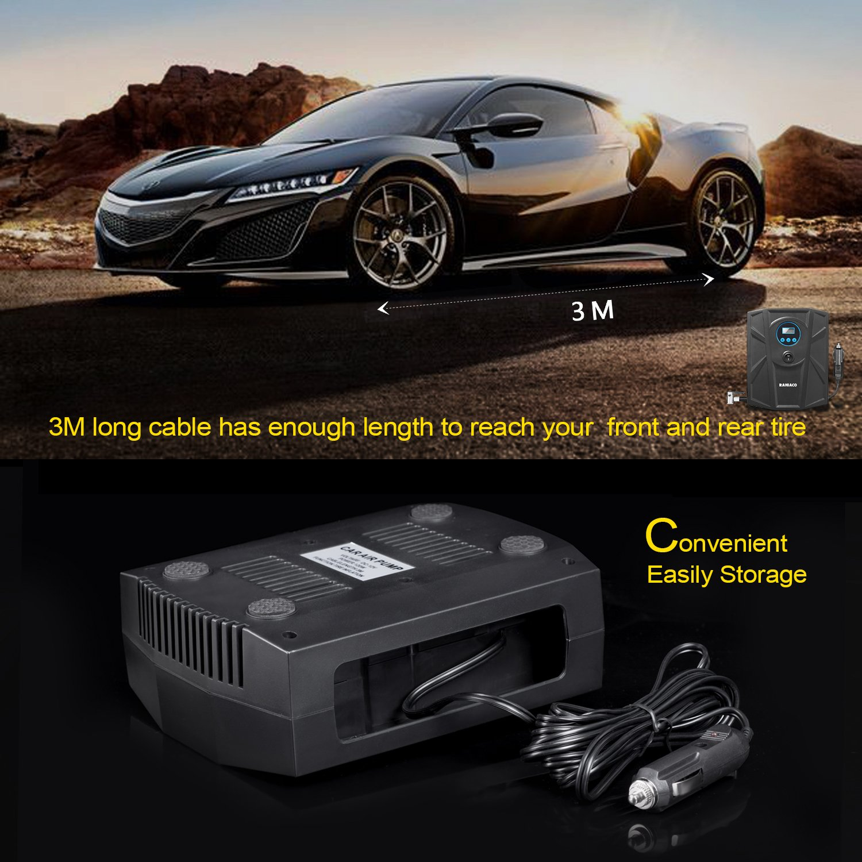1. Raniaco Portable Electric Best Mini Air Compressor