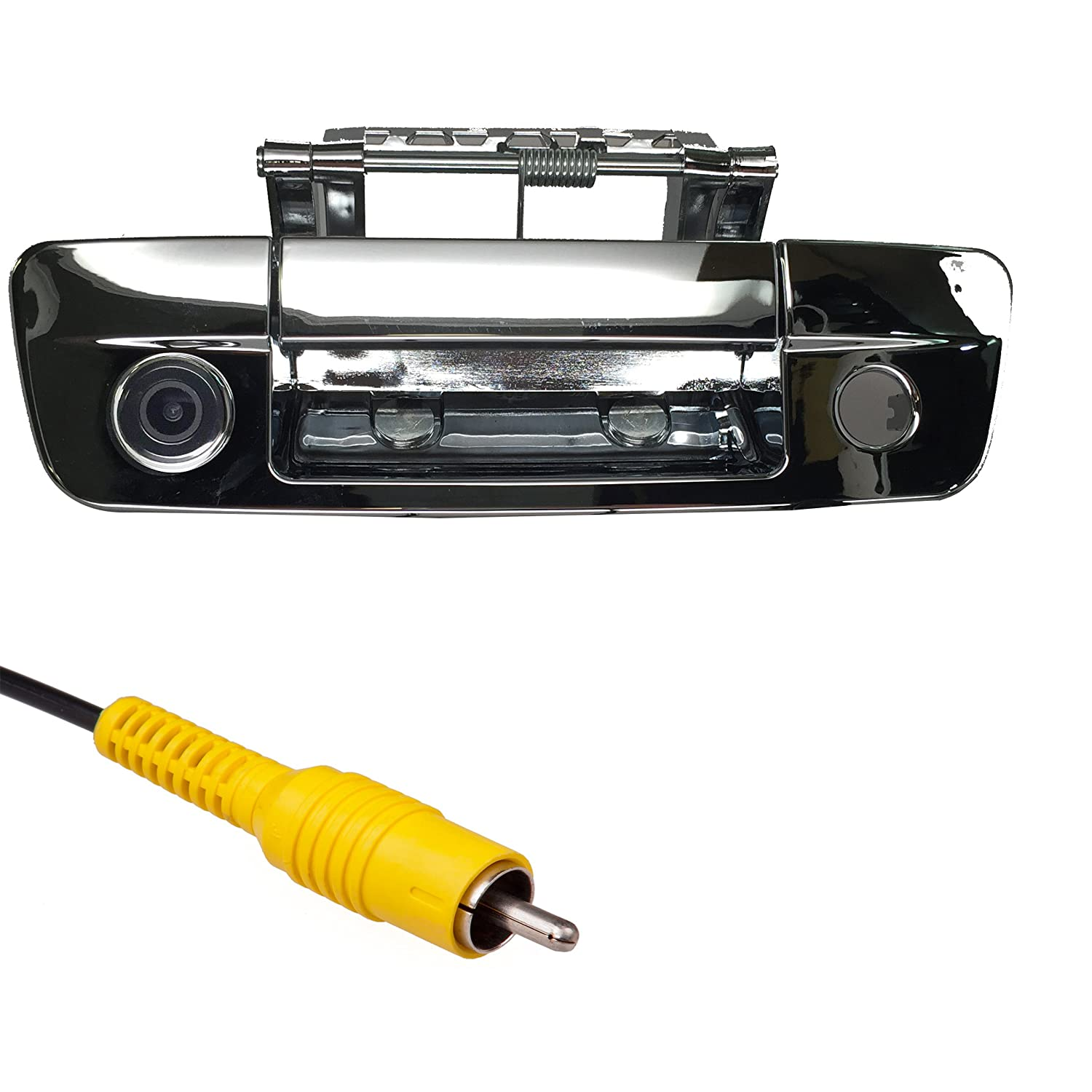 Master Tailgaters Replacement for Dodge Ram 2009-2017 Black Tailgate Backup Reverse Handle with Camera MT-DR09B