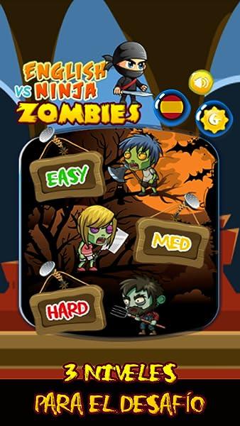 Ninja vs Zombies - Juego de palabras en español, palabras ...