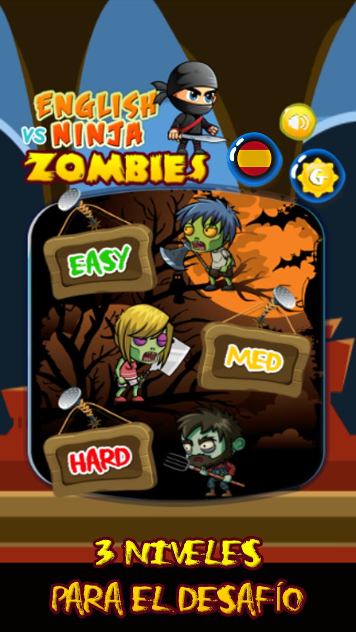 Amazon.com: Ninja vs Zombies - Spanish Word Game, Words ...
