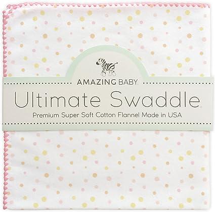 Amazing Baby by SwaddleDesigns Couverture//lange en mousseline de coton pour b/éb/é