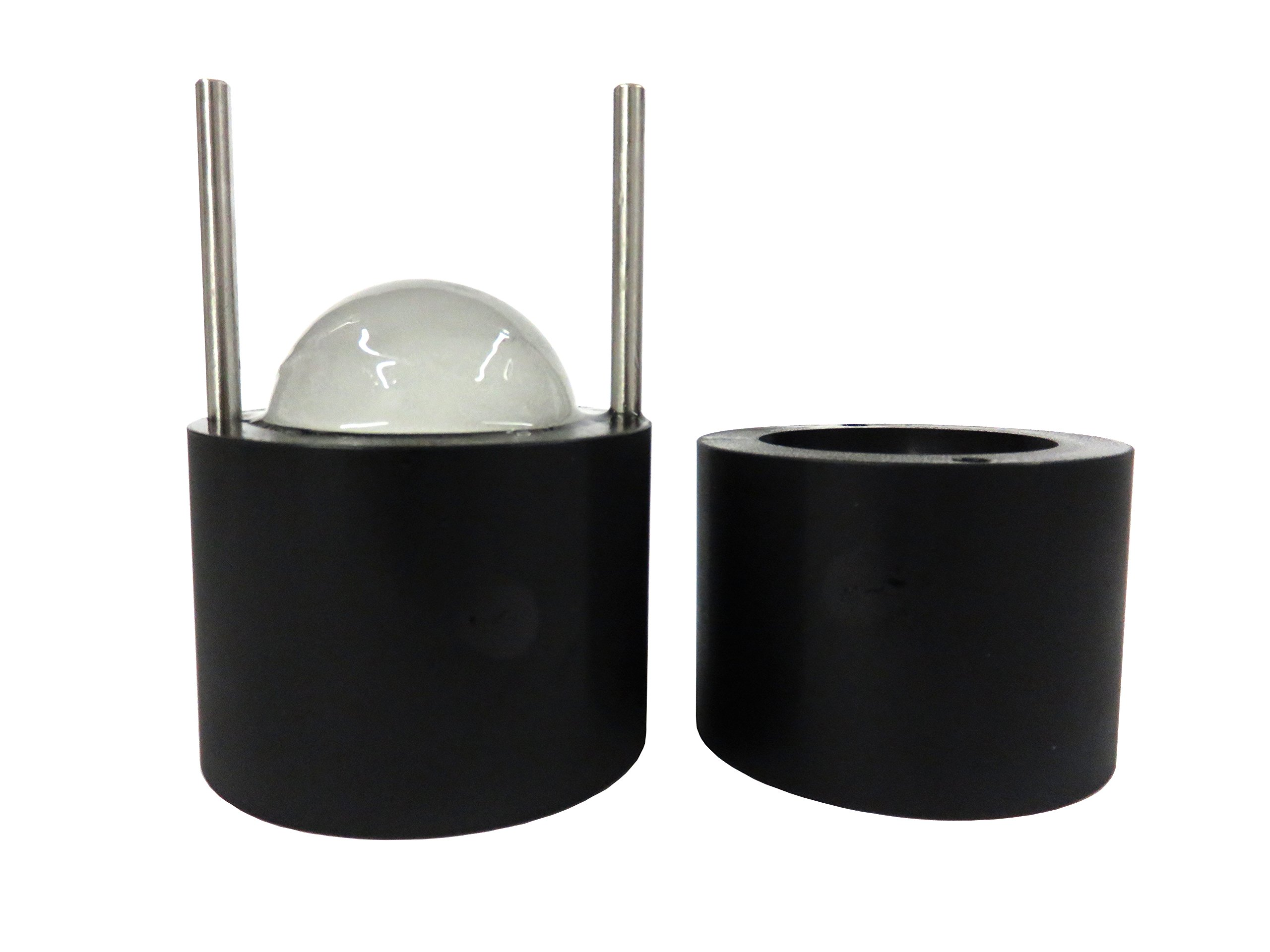 Glacious LE 60mm Ice Ball Press (Onyx) | Create Huge Ice Spheres For Your Drink | Ice Ball Maker