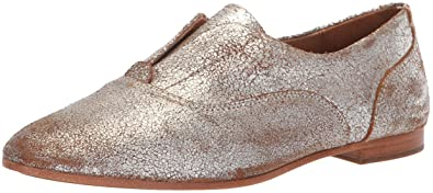 1634bb3f842 FRYE Women s Terri Slip ON Driving Style Loafer Silver Multi 5.5 ...