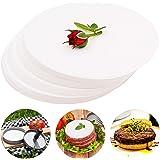 Meykers Patty Paper Sheets for 4 /4.5 Inch Burger Press - 500 pcs Round Hamburger Maker Non-Stick Heat Resistant Circle…