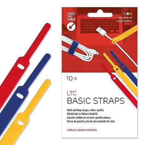 20 cm 50 St/ück Wiederverwendbare Kabelbinder Basics