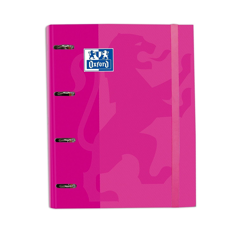Carpeta con recambio A4 Oxford School color rosa chicle