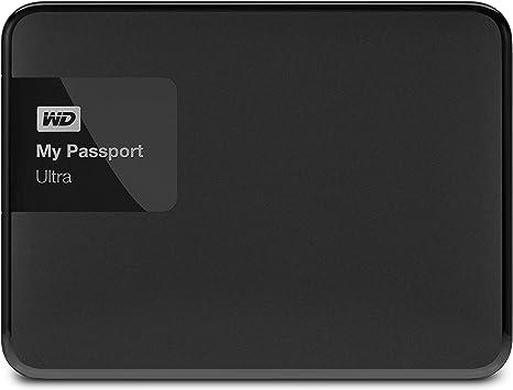 New WDBBKD0030BBK-NESN WD My Passport Ultra 3TB Portable External Hard drive