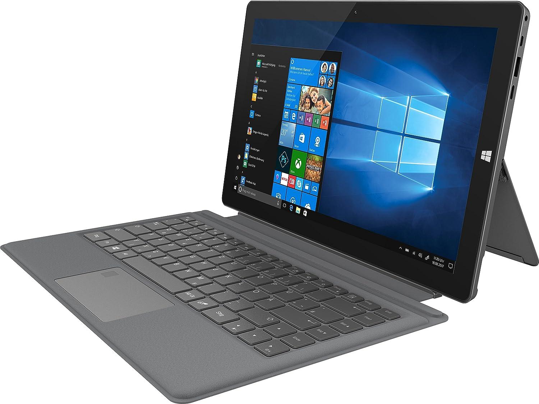 TREKSTOR PRIMETAB T13B-CO, Tablet-PC (13,3 Zoll Full-HD IPS Touch Display, Intel Celeron N3350, 4 GB RAM, 64 GB Speicher, inkl. Tastatur, Windows 10, inkl. Office 365)