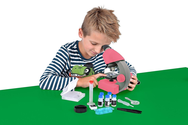 Bresser Junior Microscope 40-640x Pink
