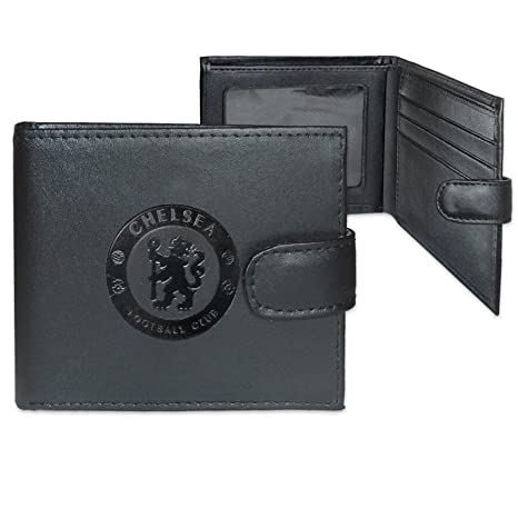 a971ab960 Image Unavailable. Image not available for. Color: Chelsea Crest Embossed  Leather Wallet ...