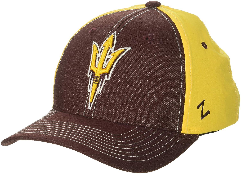 Maroon NCAA Zephyr Arizona State Sun Devils mens Clash Waterproof Performance Hat X-Large