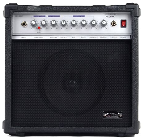 Soundking AK20-RA - Amplificador bajo eléctrico, 2 canales, 60 W: Amazon.es: Electrónica