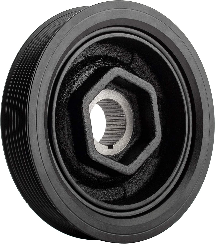 BOXI Harmonic Balancer Crankshaft Pulley Compatible with HON-DA Accord 2003-2005 TSX 2004-2008 Replace# 13810-PNA-003 Element 2003-2006 ACURA RSX 2002-2006 CR-V 2002-2006