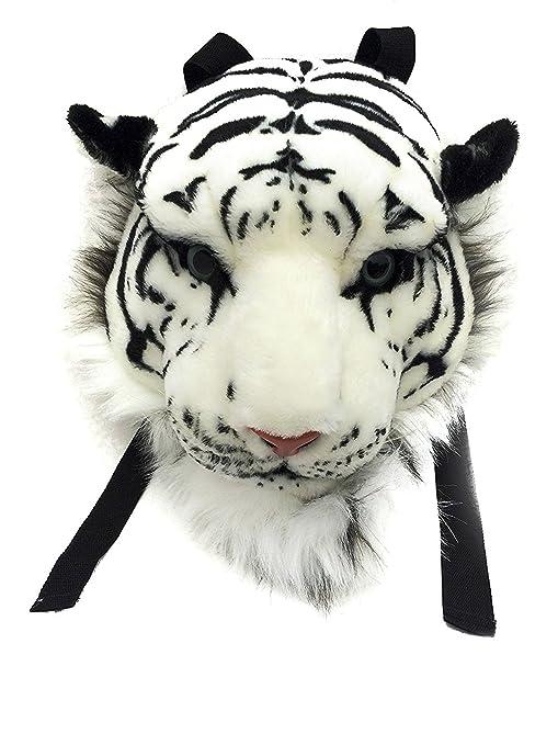 3d de peluche cabeza Mochila Mochila Tiger/León/Leopard/Negro cabeza de oso