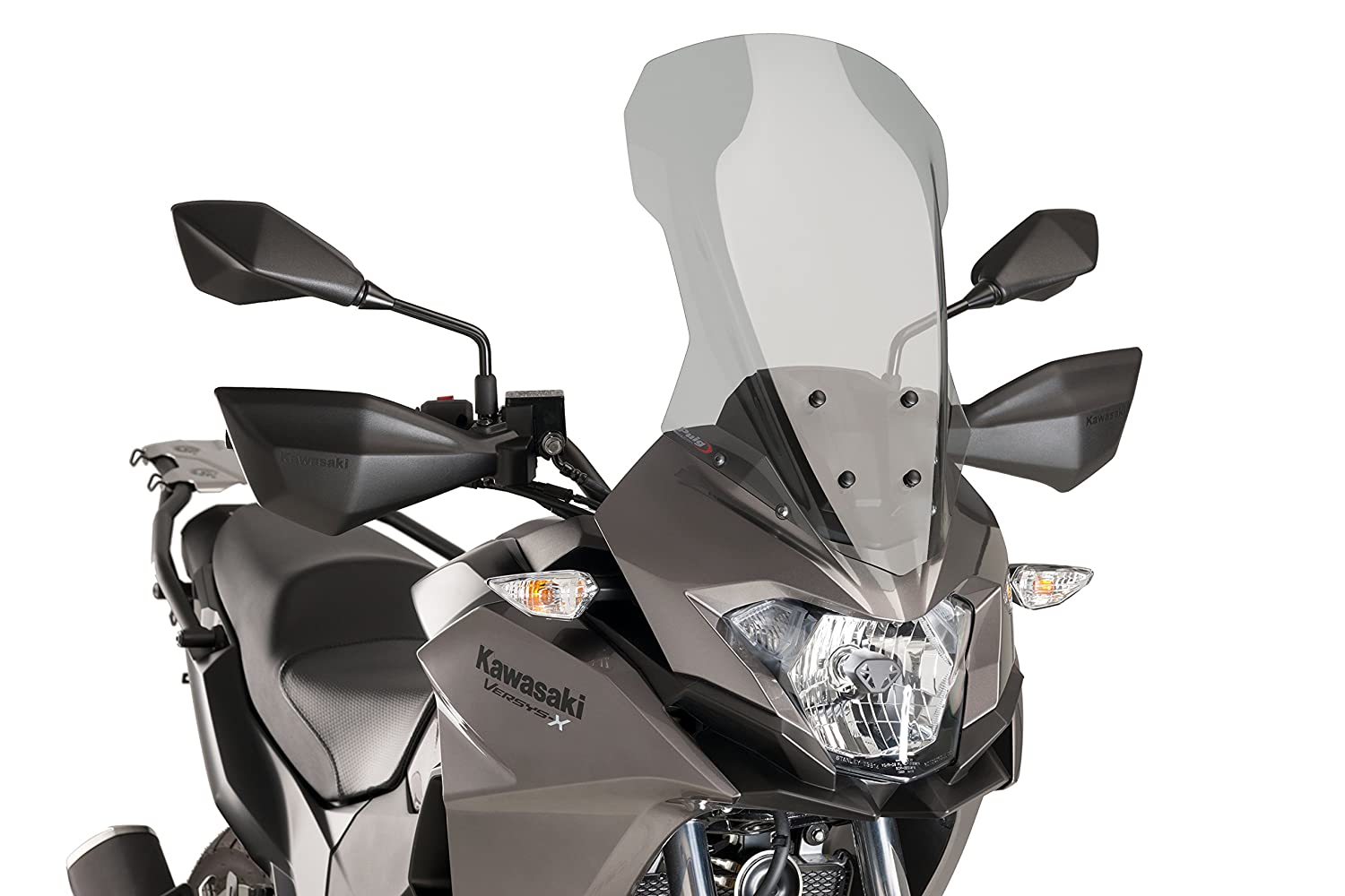 Puig 9710H Touring Screen for Kawasaki Versys-X 300 Smoked