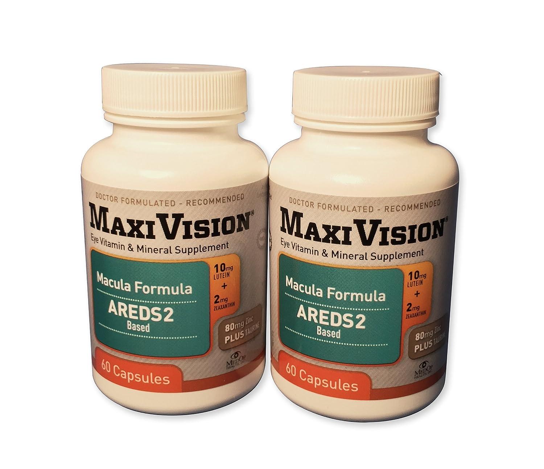 MedOp MaxiVision Macula Formula – 60 Capsules, 2 Bottles