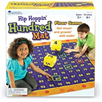 Learning Resources Hundred Activity Mat,LER1100,4 L x 4 W ft