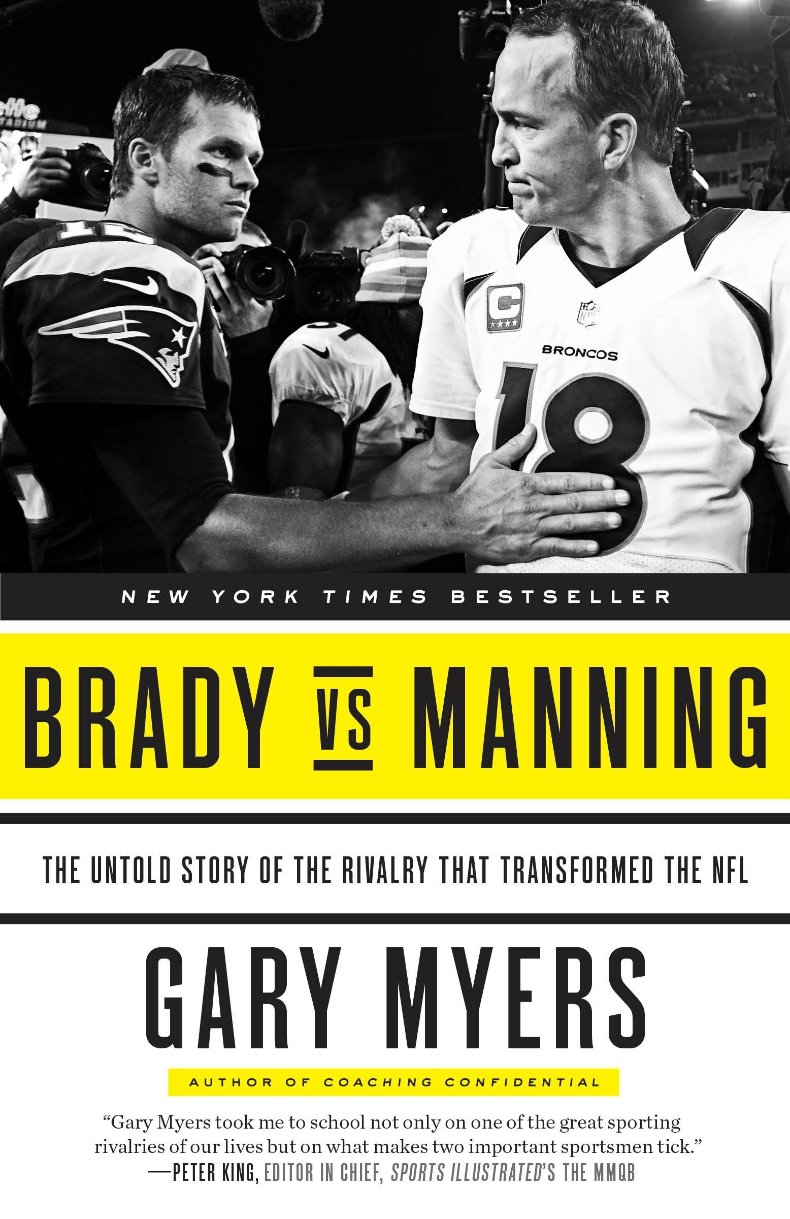 Miraculous Amazon Com Brady Vs Manning The Untold Story Of The Interior Design Ideas Clesiryabchikinfo