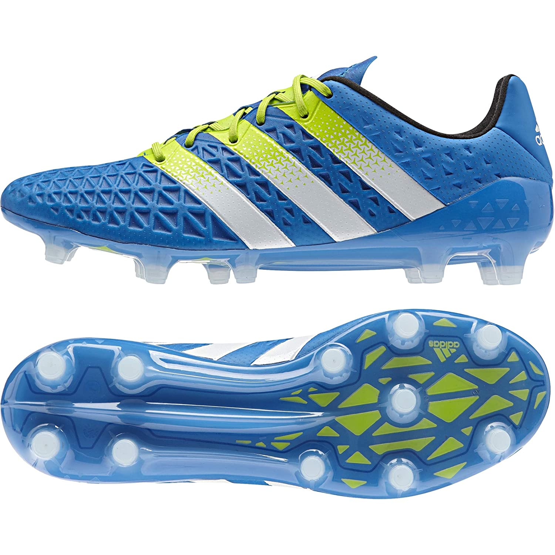 adidas ACE 16.1 Primeknit FG//AG SilVmt//CBlack//SYellow Shoes