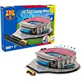 Puzzle 3 D, Dispersa, stadio Camp Nou