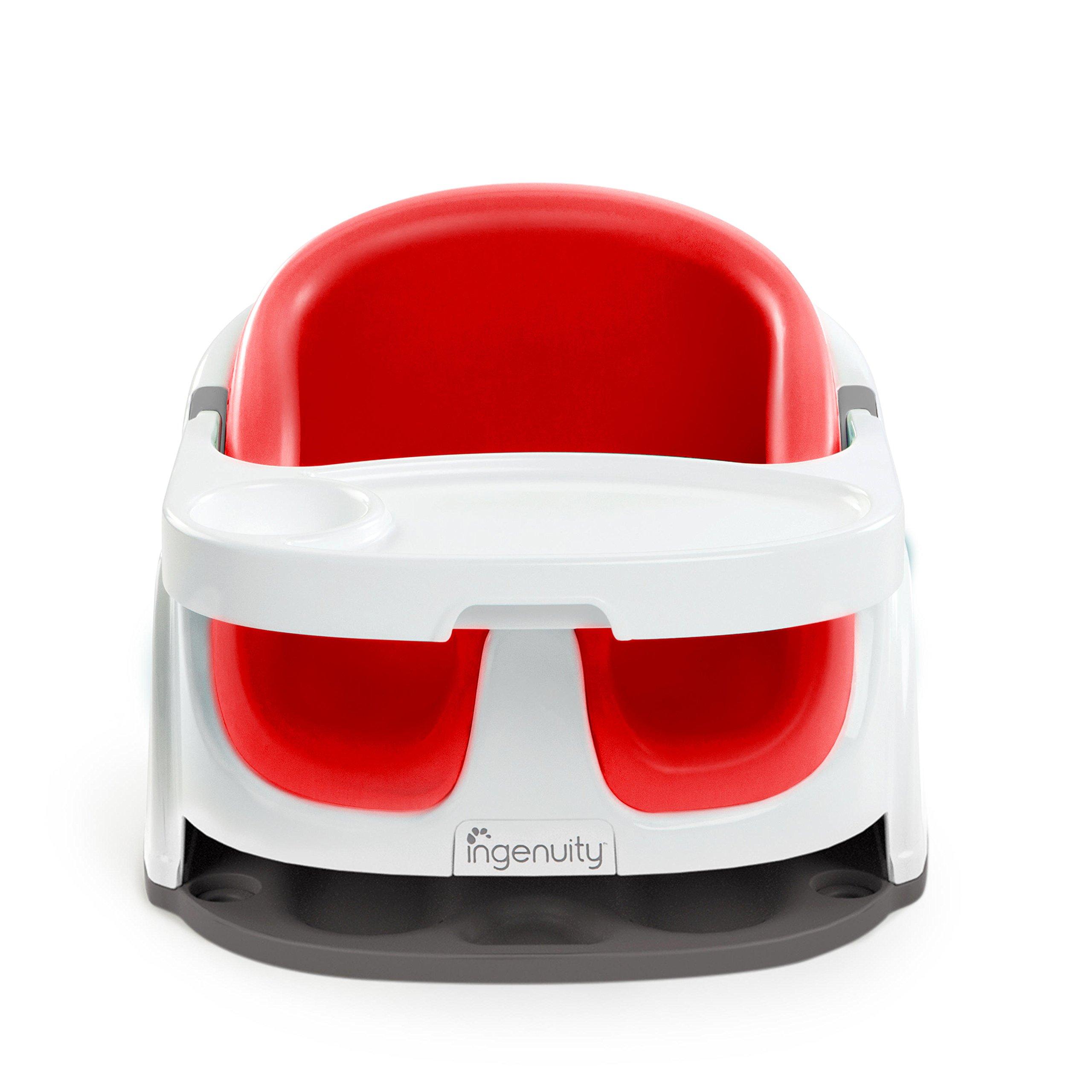 Ingenuity Baby Base 2-in-1 Seat, Poppy