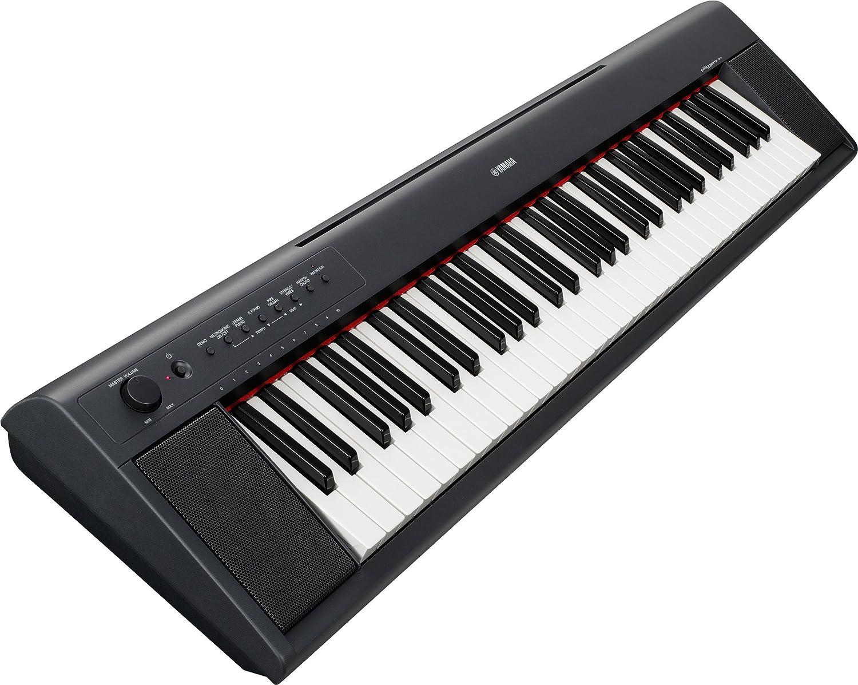 Amazon.com: Yamaha Piaggero NP11 61-Key Lightweight Compact Portable Keyboard: Musical Instruments