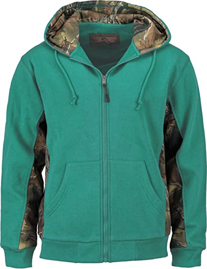 8c96de7bdc17c Amazon.com  TrailCrest Womens Camo Cambrillo Full Zip Hoodie  Sports ...