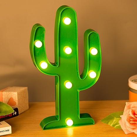 ZeWoo Lámparas decorativas, Decoración Iluminación Lámpara de mesa de luz LED Iluminación de Navidad Decoración de fiesta Lámpara de la ...