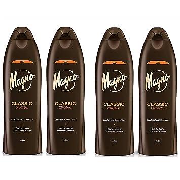 amazon com magno shower gel 18 3oz 550ml 4pack beauty magno shower gel 18 3oz 550ml 4pack