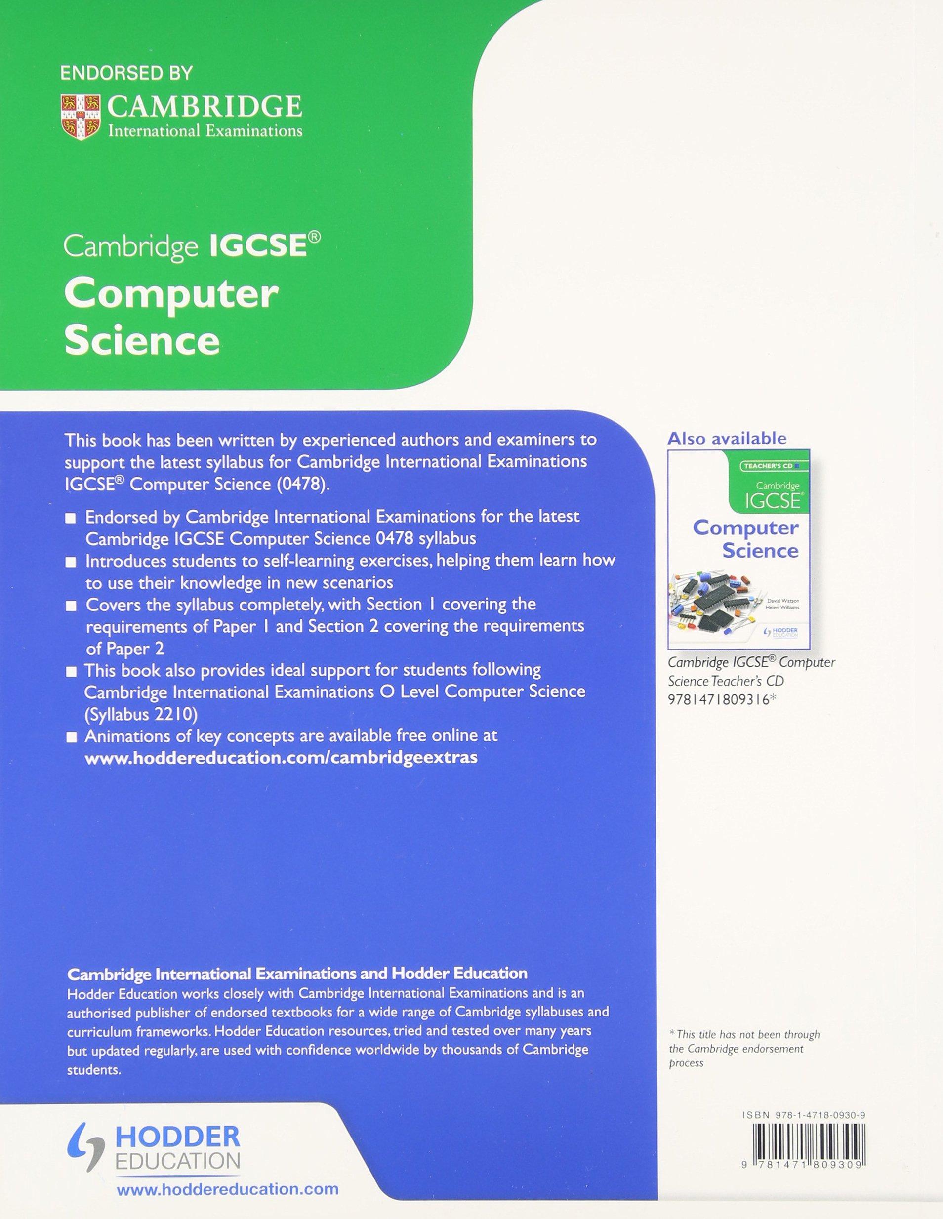 Science textbooks pdf computer