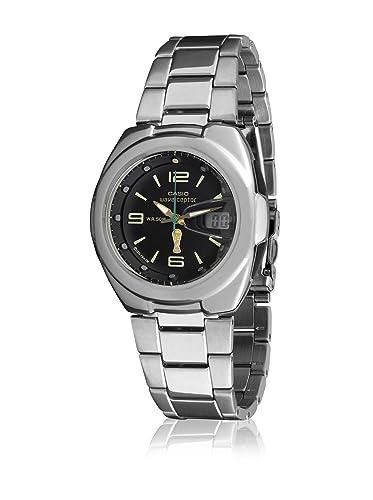 CASIO WVQ-201HWCE-1BV - Reloj Caballero cuarzo brazalete metálico - Radio Controlado: Amazon.es: Relojes