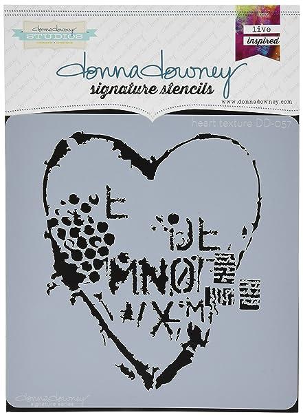 Bubbles Donna Downey Stencils Plastic Signature 8.5-inch x 8.5-inch Inch x