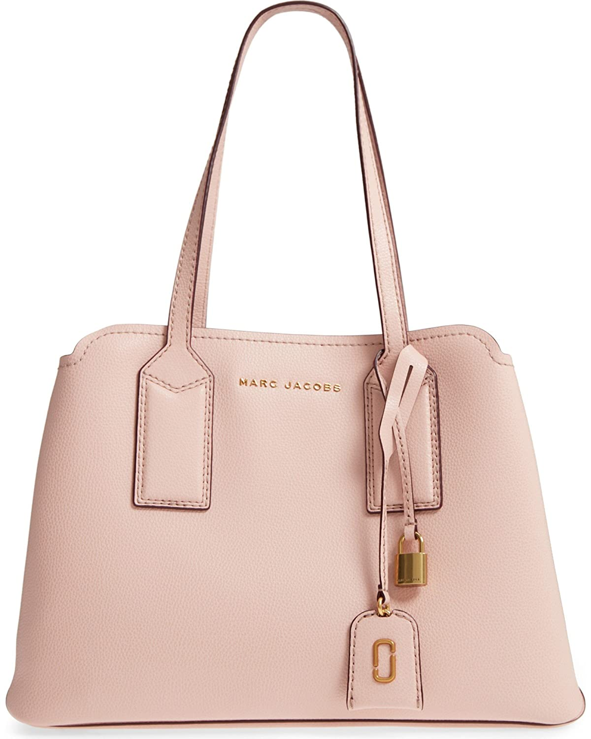 a6fe724a94b Amazon.com: Marc Jacobs The Editor Large Leather Tote Bag, Rose: Shoes
