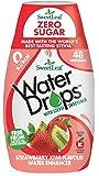 SweetLeaf Water Drops with Stevia Sweetener - 48 Servings (48 ml), Strawberry & Kiwi