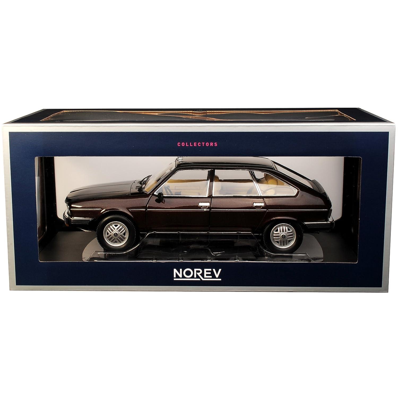 Norev Norev Norev Renault 30 TX Limousine Braun Schwarz Metallic 1975-1984 1 18 Modell Auto mit individiuellem Wunschkennzeichen 4f4e0c