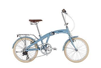 BOBBIN Bicicleta Plegable Fold (Azul)