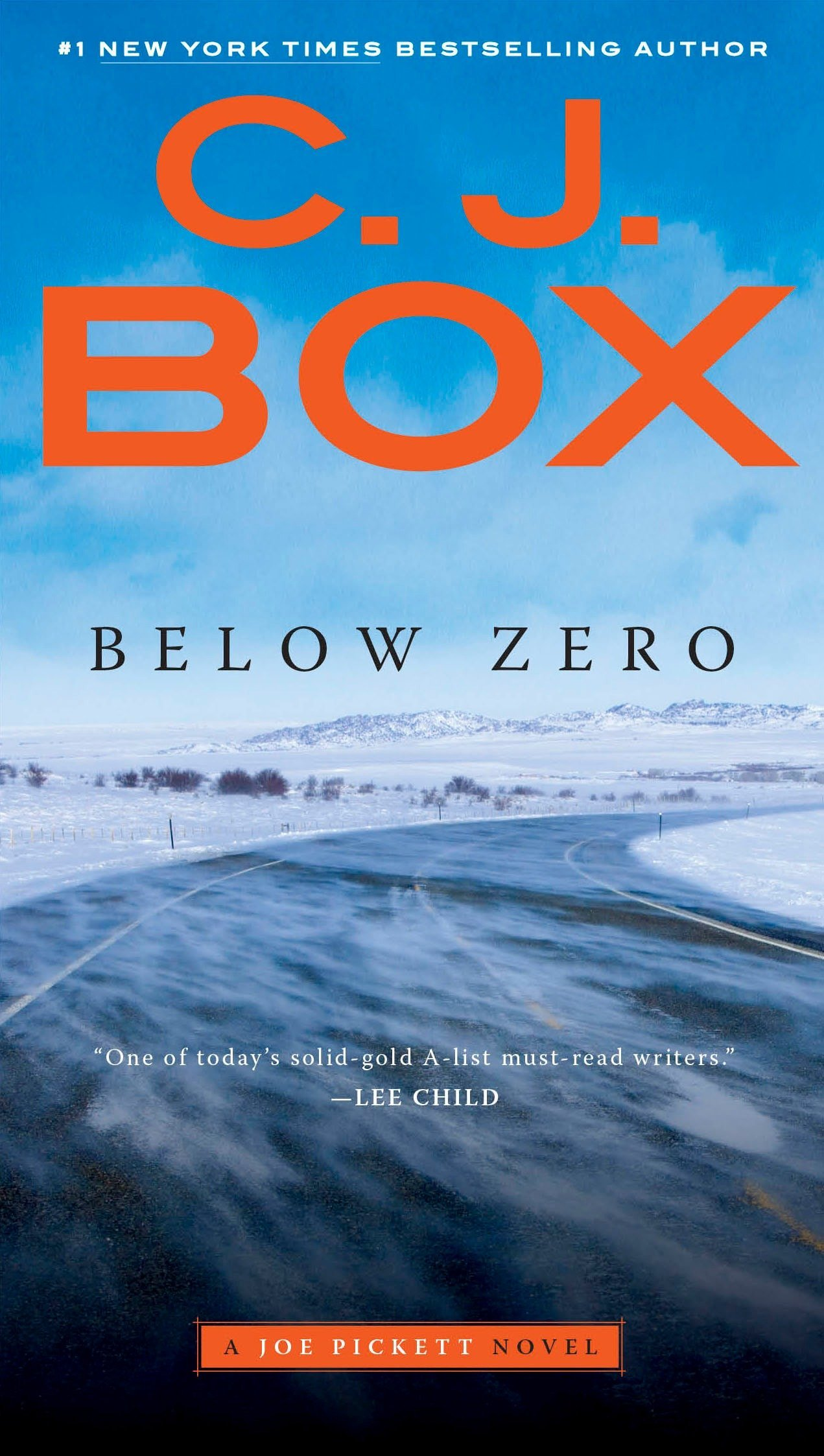 Below Zero (A Joe Pickett Novel) PDF