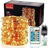 Stringa Luci Led, Speclux 30M 300Led IP65 Impermeabile Catene Luminose Rame, Illuminazione Decorazioni per Natale, matrimonio, festa, casa, Balcone