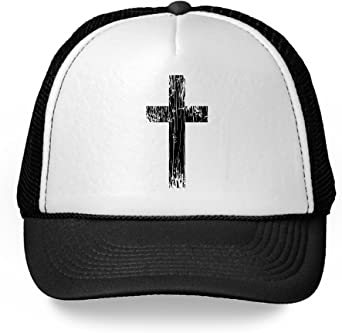 Custom Richardson Running Cap Cross Silver Embroidery Church Name Polyester Hat