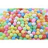 マジカルボール 夜光タイプ 丸型 補充パック 7色 ミックスカラー ビーズ 600個入り