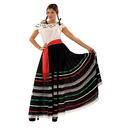 My Other Me Me-203693 Disfraz de mejicana para mujer, S (Viving Costumes 203693