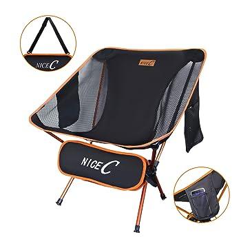 Nice C Portable Folding Camp Chair